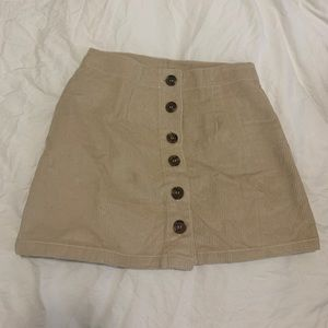 Courdoroy Skirt